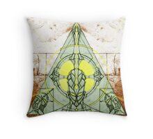 Saint and Demons Throw Pillow