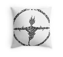 Snakeman Throw Pillow