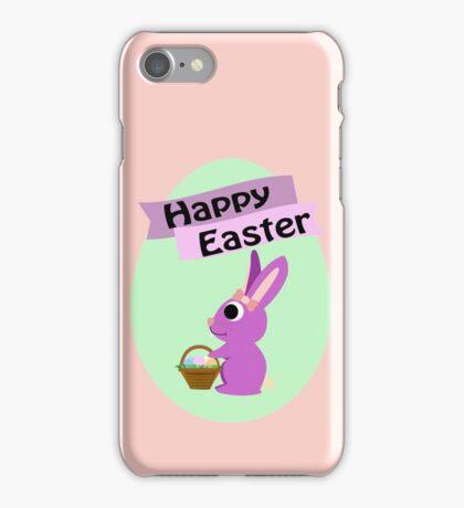 Happy Easter Girl Bunny iPhone Case/Skin