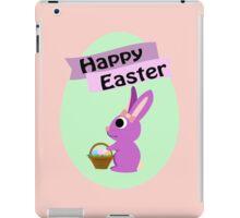 Happy Easter Girl Bunny iPad Case/Skin