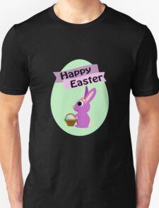 Happy Easter Girl Bunny Unisex T-Shirt