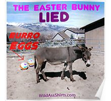 Burro Eggs: the Easter Bunny LIED! Poster