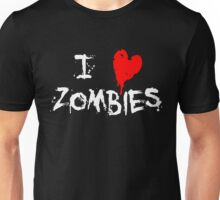I HEART ZOMBIES... Unisex T-Shirt