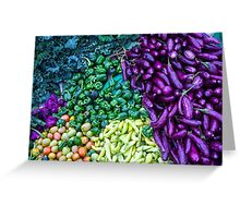Vegetable Riot!  Greeting Card