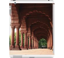 Engrailed Arches Red Fort - New Delhi iPad Case/Skin
