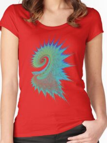 Dragon Swirl Women's Fitted Scoop T-Shirt