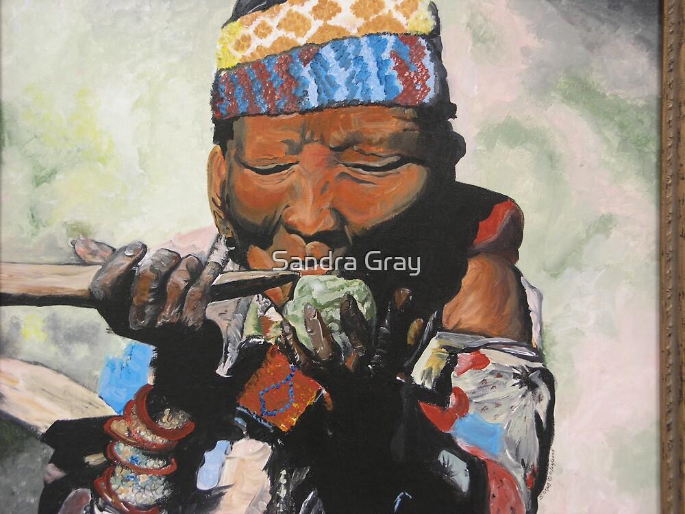 Sippin' Grandma by Sandra Gray