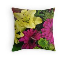 Aunt Fannie's Bloomers Throw Pillow