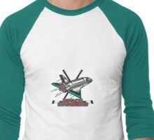 Space Invaders Hockey Club Men's Baseball ¾ T-Shirt