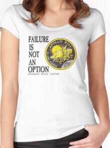 Apollo 11 - Failure is not an option Women's Fitted Scoop T-Shirt