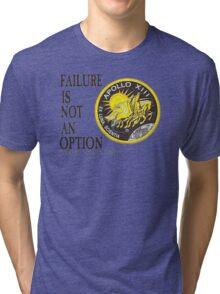 Apollo 11 - Failure is not an option Tri-blend T-Shirt