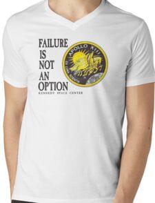 Apollo 11 - Failure is not an option Mens V-Neck T-Shirt