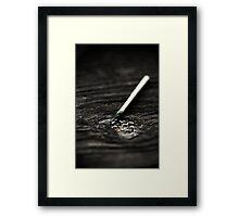 Strike Framed Print