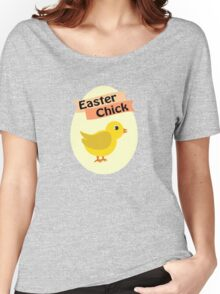 Cute Yellow Easter Chick Women's Relaxed Fit T-Shirt