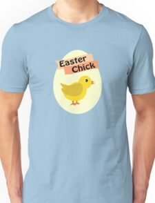 Cute Yellow Easter Chick Unisex T-Shirt