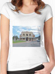 Empire Hotel, Queenstown, Tasmania, Australia Women's Fitted Scoop T-Shirt