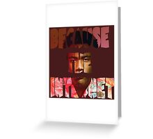 Childish Gambino Because The Internet Album Greeting Card