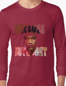 Childish Gambino Because The Internet Album Long Sleeve T-Shirt