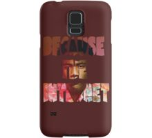 Childish Gambino Because The Internet Album Samsung Galaxy Case/Skin