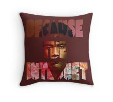 Childish Gambino Because The Internet Album Throw Pillow