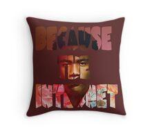 Childish Gambino Because The Internet Album Throw Pillow