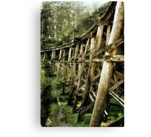 Trestle Bridge Canvas Print