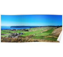 Chambers Bay Golf Links Poster