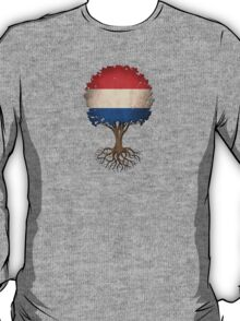Tree of Life with Dutch Flag T-Shirt