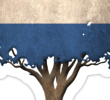 Tree of Life with Dutch Flag Sticker
