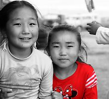Mongolian Sisters by Christopher Meder