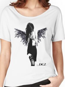 Angel Lady Women's Relaxed Fit T-Shirt