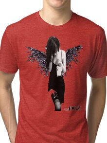 Angel Lady Tri-blend T-Shirt