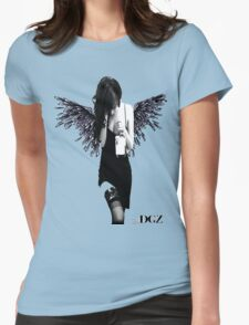 Angel Lady Womens Fitted T-Shirt