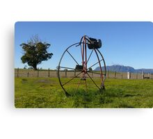 Penny Farthing Letterbox Canvas Print