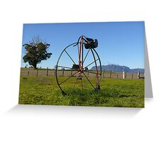 Penny Farthing Letterbox Greeting Card