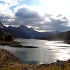 Medicine Lake, Jasper National Park by Vickie Emms