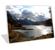 Medicine Lake, Jasper National Park Laptop Skin