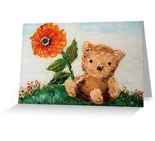 Bear Sunshine Greeting Card