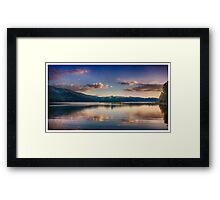 Alder Lake Framed Print