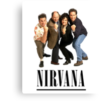 Seinfeld Nirvana Canvas Print
