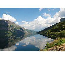 Greetings from Norway Photographic Print