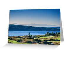 Chambers Bay Tree Greeting Card