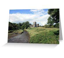 Tintern Abbey view 3 Greeting Card
