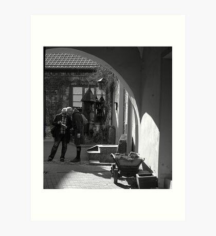 """City Life - """"Explorers"""" Art Print"""