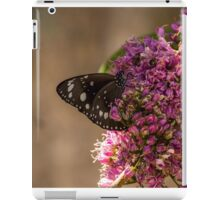 Common Crow Butterfly - Wings Closed iPad Case/Skin