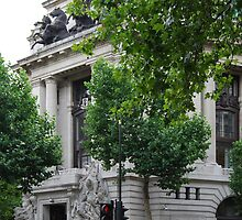 Australia House - Front Entrance by Karen Martin
