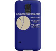 Color blind problems Samsung Galaxy Case/Skin