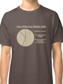 Color blind problems Classic T-Shirt