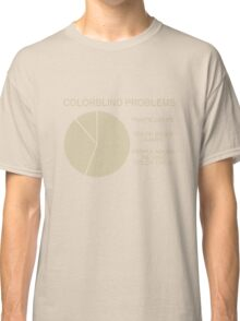 Color blind problems Classic T-Shirt