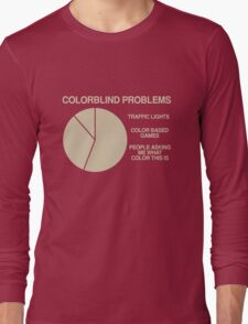 Color blind problems Long Sleeve T-Shirt